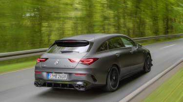 Mercedes-AMG CLA 45 Shooting Brake rear