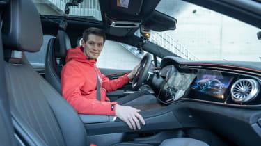 Mercedes EQS prototype - Peter Fischer