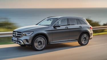 Mercedes GLC - front action