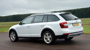 Skoda Octavia Scout review - rear