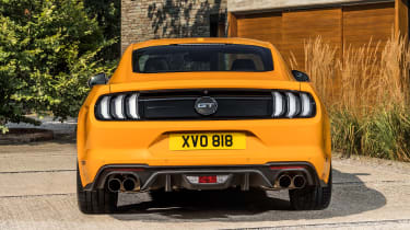 2018 Ford Mustang rear