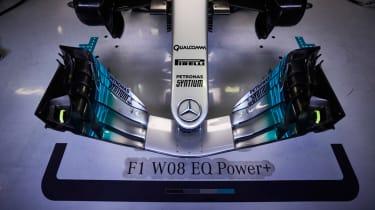 Formula 1 2017 - Mercedes front wing