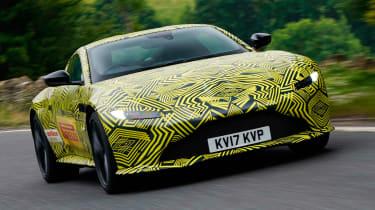 New Aston Martin V8 Vantage spied
