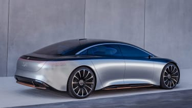 Mercedes Vision EQS concept - rear