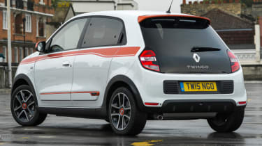 Triple test – Kia Picanto - rear
