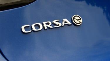 Vauxhall Corsa-e - badge