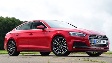 Twin test - Audi A5 - static front