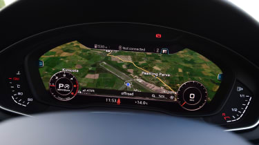 Audi A4 Allroad - dashboard
