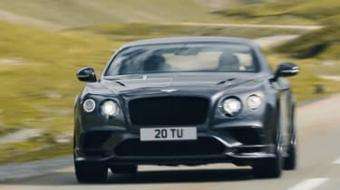 Bentley Continental GT Supersports 2017 - video front 3