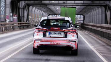 Audi Q4 e-tron prototype - full rear