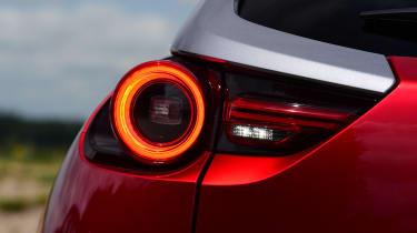 Mazda MX-30 long termer - first report rear lights