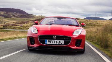 Jaguar F-Type Convertible 2.0-litre 4-cylinder - full front action