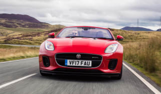 Jaguar F-Type Convertible 2.0-litre 4-cylinder - full front action