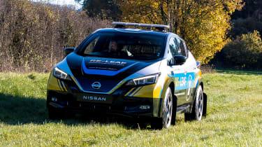 Nissan Re-Leaf - front off-road