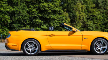 Ford Mustang Convertible - roof down