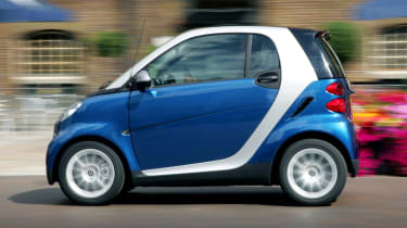 Smart ForTwo panning