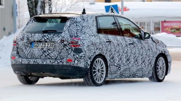 Mercedes B-Class third-gen spied - rear