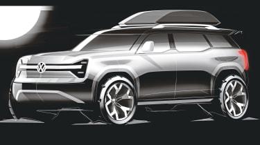 VW electric off-roader - sketch