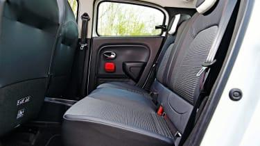 Renault Twingo - rear seats