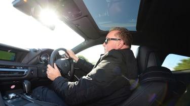 Lexus LC 500h - Steve Fowler driving