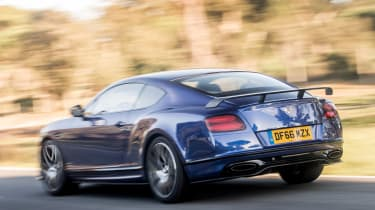 Bentley Continental Supersports 2017 - Moroccan Blue rear tracking 3