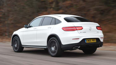 Mercedes GLC Coupe - rear action