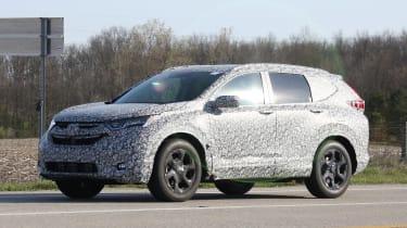 New Honda CR-V - spy shots - side