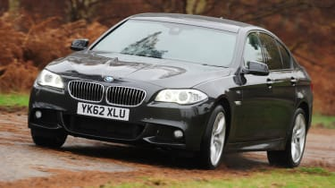 BMW 520d ED front tracking