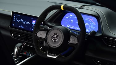 Lotus Emira - steering wheel