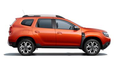 Dacia Duster facelift - side studio
