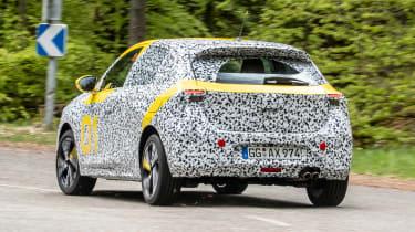 Vauxhall Corsa prototype - rear
