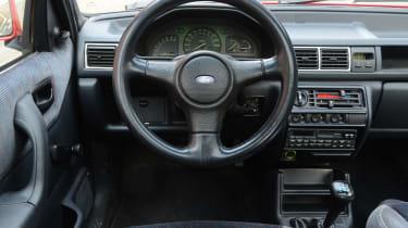 Ford Fiesta Mk3 - XR2i interior 2