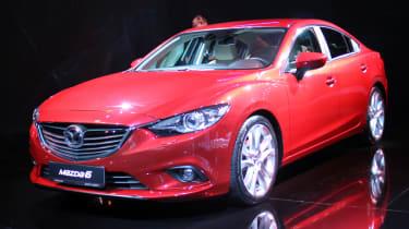 Mazda 6 front three-quarters