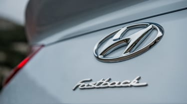 Hyundai i30 Fastback - Fastback badge