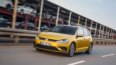 New 2017 Volkswagen Golf - front tracking