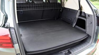 SsangYong Rexton 2021 facelift - boot