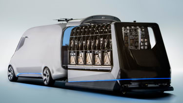 Mercedes Vision Van - official loading