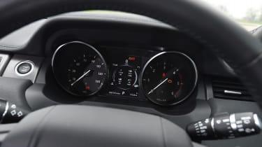 Range Rover Evoque - speedo