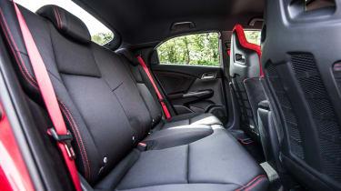 New Honda Civic Type R 2015 rear seats