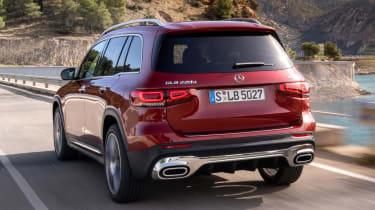 Mercedes GLB - rear