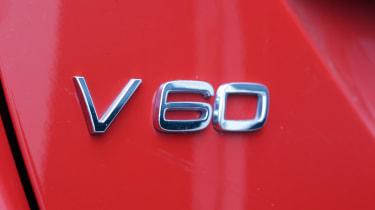 Used Volvo V60 - V60 badge