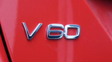 Used Volvo V60 - V60 badge
