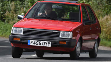 Long term Nissan Micra - second report - mk1 Micra action