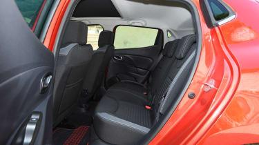 Renault Clio old vs new - Mk4 rear seats