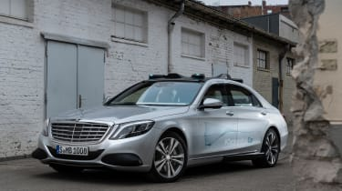 Mercedes Co-operative car - static front 3/4