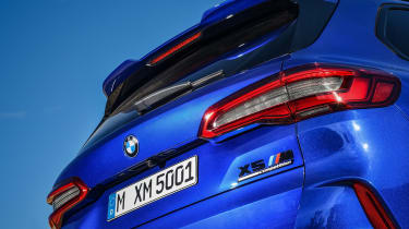 BMW X5 Competition - rear detail