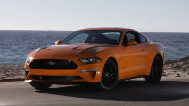 Ford Mustang - front/side