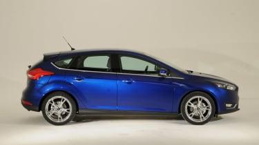 Ford Focus 2014 facelift side
