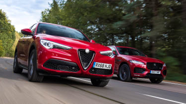 Alfa Romeo Stelvio vs Jaguar F-Pace - head-to-head