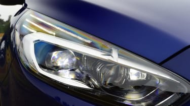 Ford S-MAX long-term - front light detail